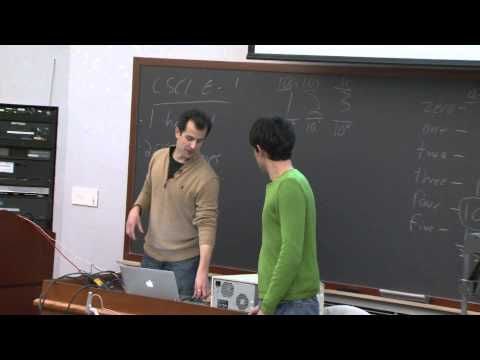 Lecture 1: Hardware - CSCI E-1 2010 - Harvard Extension School