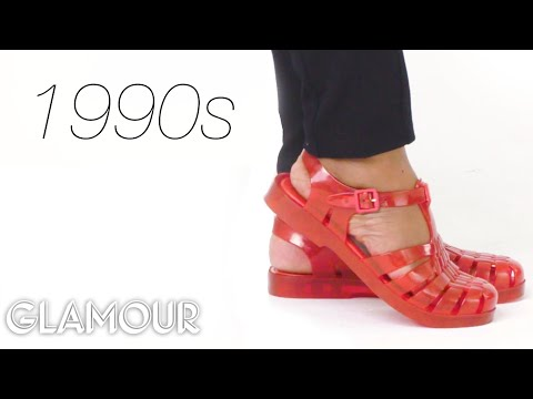 100 Years of Women's Shoes | Glamour
