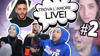 ADDORMENTATO IN DIRETTA - [Trova l'amore live REACTION EP.2]