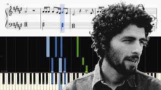 José Gonzalez Stay Alive Walter Mitty Piano Tutorial Sheets