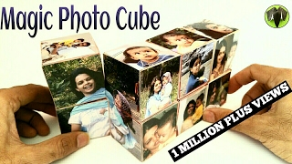 Magic Photo Cube Album for Mother