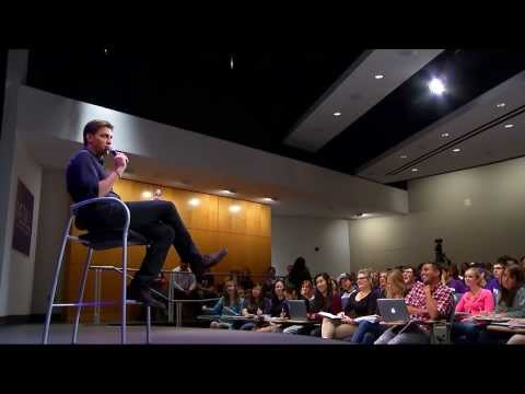 Mike Greenberg BSJ89 returns to Medill