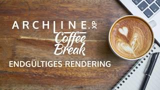 ARCHLine.XP - Die CAD + BIM Software Coffe Break- Entgültiges Rendering