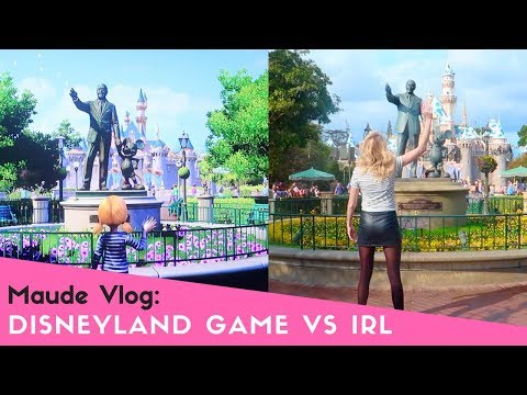 Disneyland Game VS Disneyland IRL with Maude