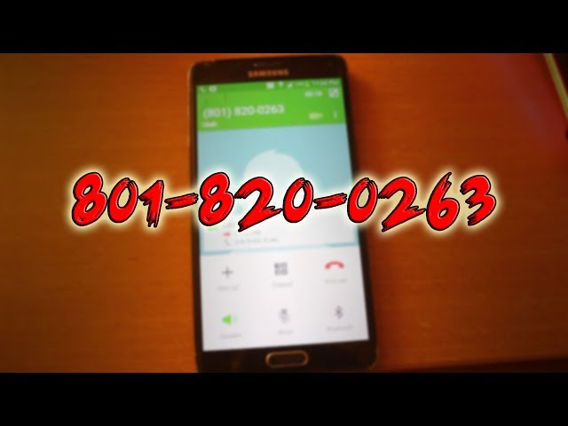 Mysterious Phone Number Analysis