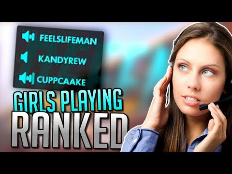 The Moment Girls Join Voice Chat.. | Overwatch