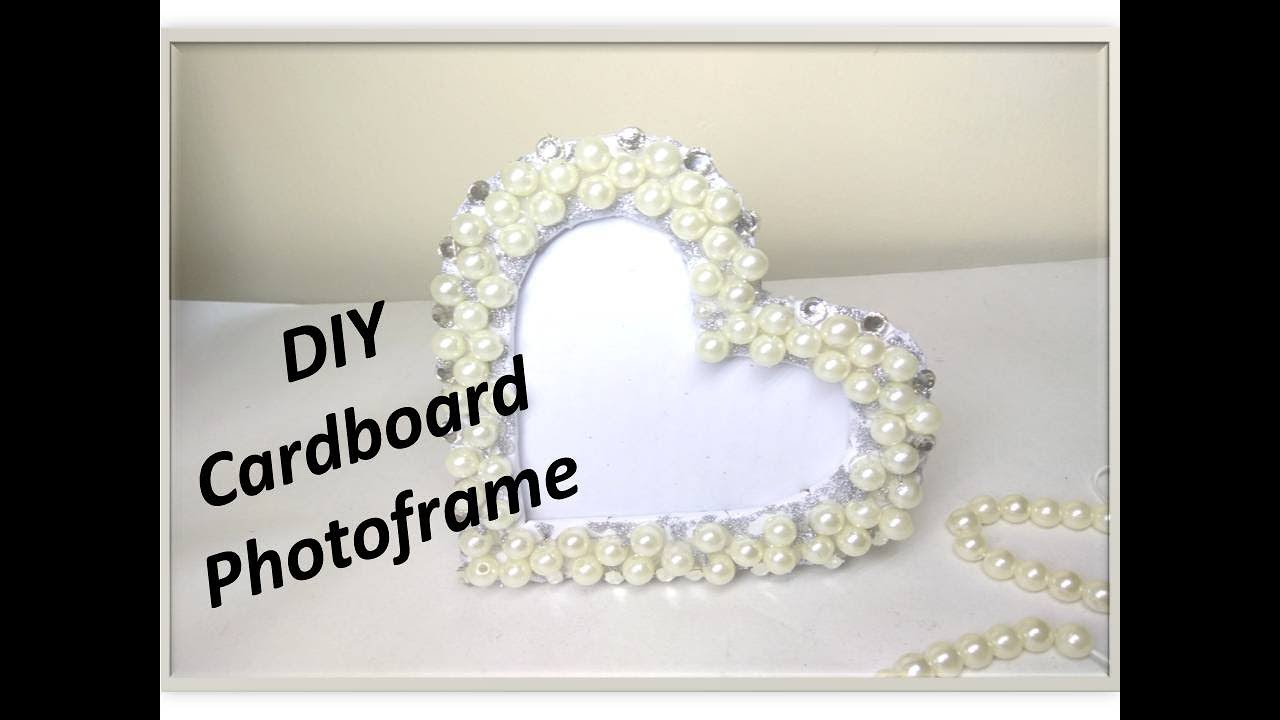 DIY Fancy Photo frame at home / Market like photo frame at very low ...