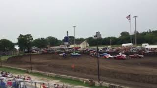 Figure 8 Racing in Hampton @ 2pm 8/19/18 Stock Feature Pt 3