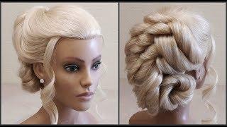 Прически.Обучение прическам.Красивые прически.Detailed training on hairdresses.Beautiful hairstyles