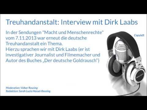 Treuhandanstalt: Interview mit Dirk Laabs