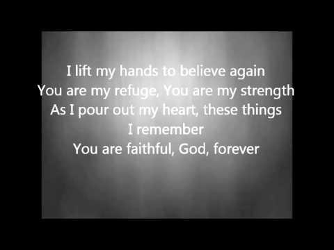 Chris Tomlin - I Lift My Hands with Lyrics