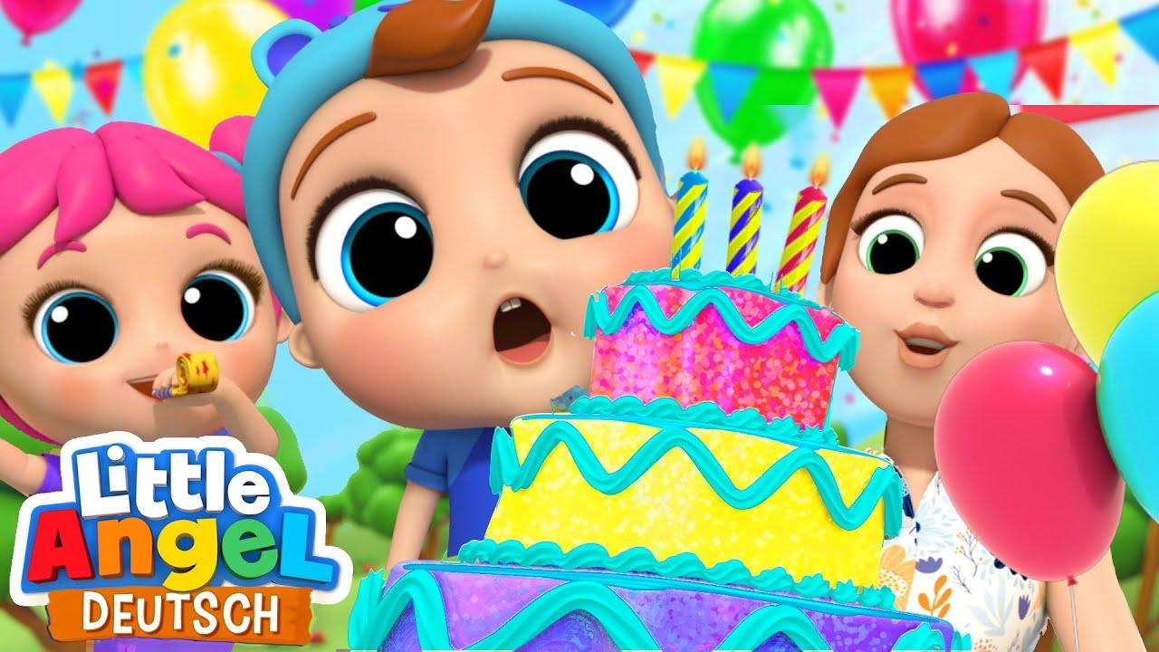 Geburtstagslied 🎂🎉| Heute ist dein Geburtstag! | Little Angel Deutsch
