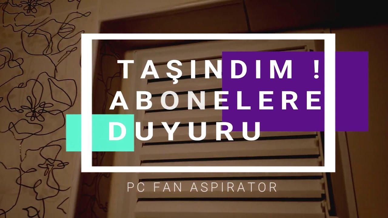 Pc Fan Havalandırma Banyo Aspirator Yapımı 📢 Kanal Duyuru