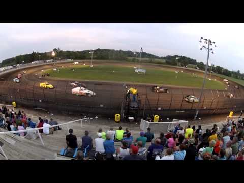 Modified Feature Tower Cam Gas City Speedway 6-21-13 (Derek Losh)