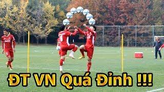 Thử Thách Bóng Đá đi xem Bùi Tiến Dũng , Xuân Trường , Công Phượng tập cho ĐT Việt Nam VS Seoul FC