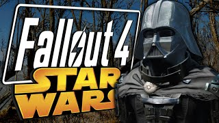 VADER ENTERS THE WASTELAND - Star Wars Mods - Fallout 4 Funny Moments
