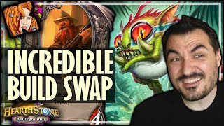 FULL BUILD SWAPS ARE STILL POSSIBLE?! - Hearthstone Battlegrounds