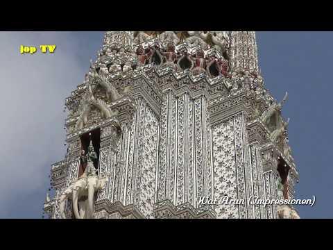 Wat Arun Bangkok Thailand Vacation Travel Guide 4k jop TV