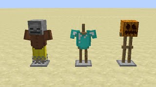Minecraft Snapshot 14w32a Overview -- Armor Stands, Colored Beacons and Red Sandstone