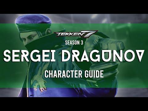 Sergei Dragunov Full Character Guide | TEKKEN 7 Season 3