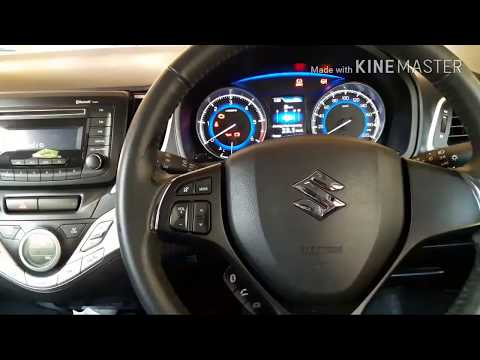 baleno steering wheel adjustment
