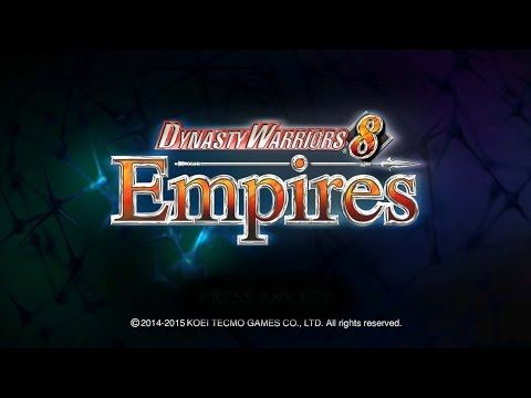 Let's Play - Dynasty Warriors 8: Empires - 0 - Create a Character