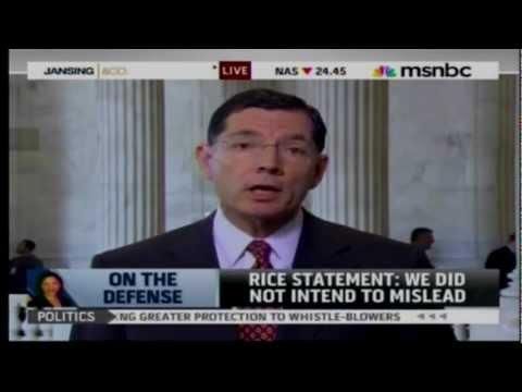 Senator Barrasso on MSNBC with Chris Jansing
