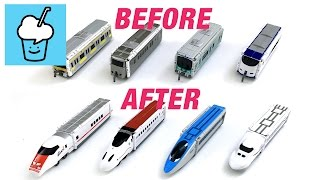 VooV ブーブ 変身 Transform street vehicles for kids with Trains 2