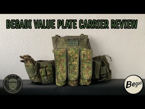[REVIEW] BEGADI VALUE Plate Carrier Set, Oliv