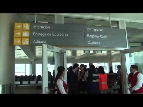 Nuevo Aeropuerto de Quito es el mas moderno y la pista más larga de aterrizaje de Surámerica