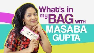 Masaba Gupta: What's in my bag | Fashion | Bollywood | Pinkvilla