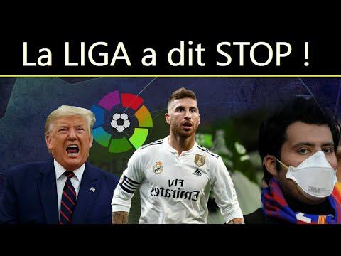 📢 OFFICIEL : La LIGA a L'ARRÊT et le REAL MADRID en QUARANTAINE ! Ligue des Champions annulé