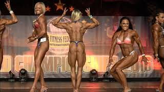 WFF World Championship 2016 - Women Superbody