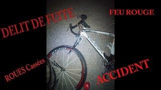 DELIT DE FUITE  -  ARDÈCHE - ALBAN FERRIEUX PERCUTER PAR UNE VOITURE EN VELO !!!