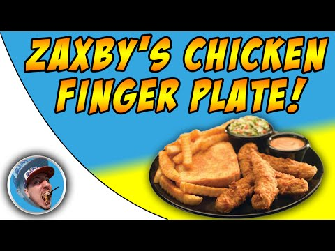 Zaxby's Chicken Tender Plate! - Food Review!