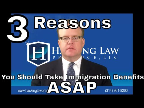 3 Reasons Why You Should Take Immigration Benefit as Soon as Possible