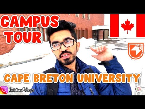 Nova Scotia| Cape Breton University- Campus Tour| Canada