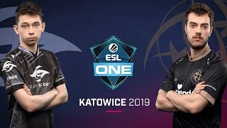 Dota 2 - Team Secret vs. Ninjas in Pyjamas - Game 1 - UB Semi #1 - ESL One Katowice 2019