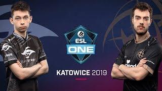 Dota 2 - Team Secret vs. Ninjas in Pyjamas - Game 1 - UB Semi #1 - ESL One Katowice 2019