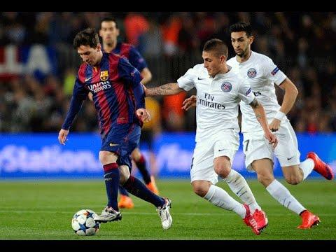 Barcelona 2 vs PSG 0 (5-1) Champions League 2015 Cuartos de final ...