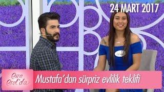 Mustafa'dan Ceyda'ya sürpriz evlilik teklifi - Esra Erol'da 24 Mart 2017 - 365. Bölüm - atv