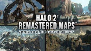 Halo 2: Anniversary Edition - Remastered Maps - Ascension Coagulation Sanctuary Zanzibar