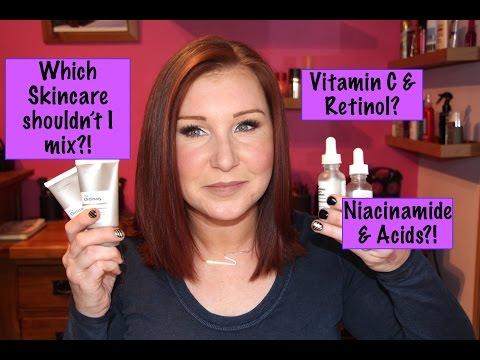 Vitamin C with Retinol? Niacinamide with AHA/BHA? The Ordinary Skincare...
