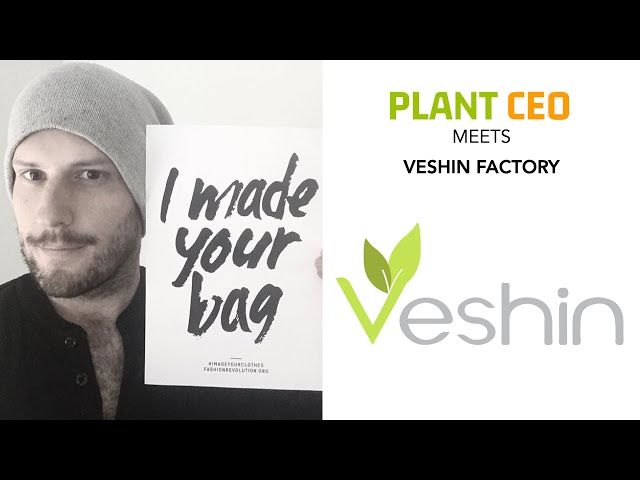 PLANT CEO #36 - Veshin Factory: creators of sustainable vegan bags and accessories