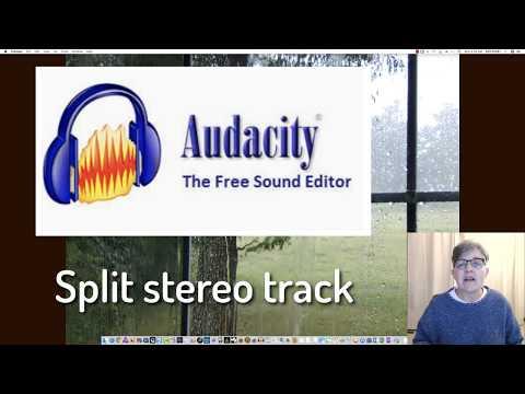 AUDACITY - Stereo To Mono (2019)