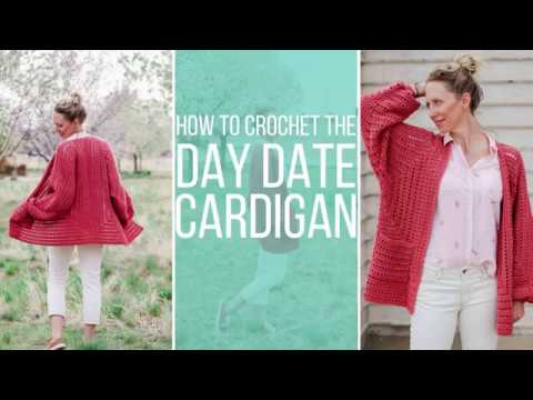How to Crochet an EASY Cardigan from Two Simple Hexagons - Free Pattern