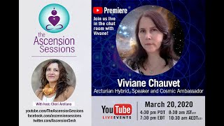 Viviane Chauvet: Arcturian Hybrid Healer on Ascension, Holographic Healing & Our Multidimensiona