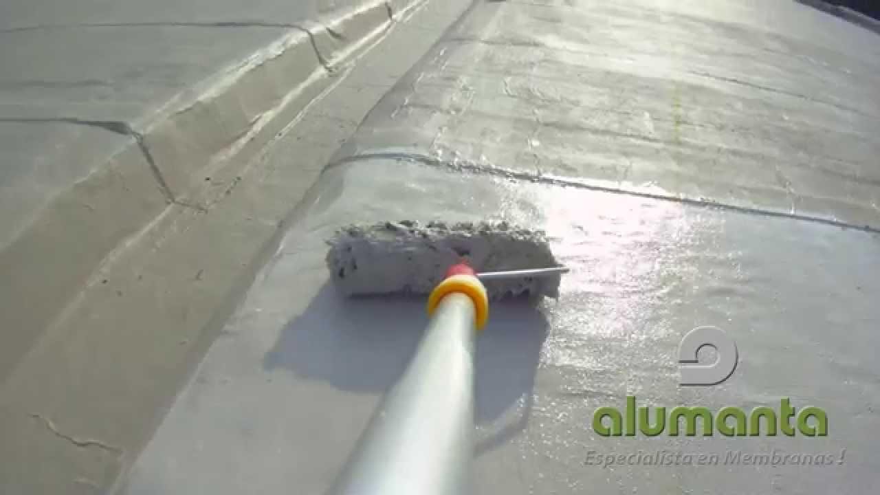 Alumanta pintura acrilica elastom rica para membrana - Pintura para suelos de garaje ...