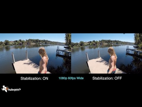 Hero5 Black: Stabilization Comparison - GoPro Tip #544