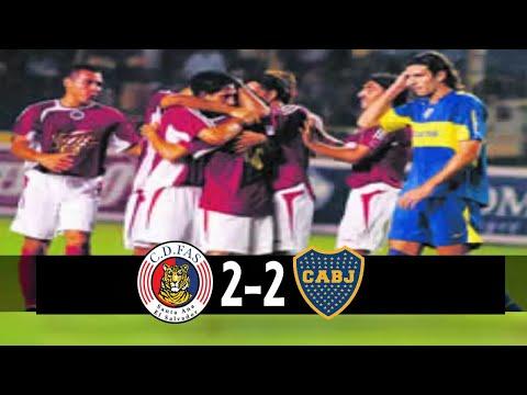 CD FAS [2/ES] vs Boca Juniors [2/ARG] FULL GAME: 5.21.2006: Friendly/Amistoso